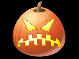 Pumpkin Halloween Emoji Sticker #10