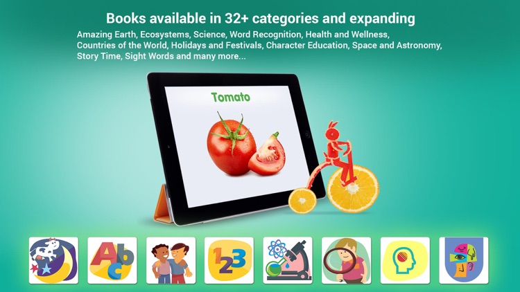 Smart Kidz Club: eBooks, Activities, Quizzes, Math
