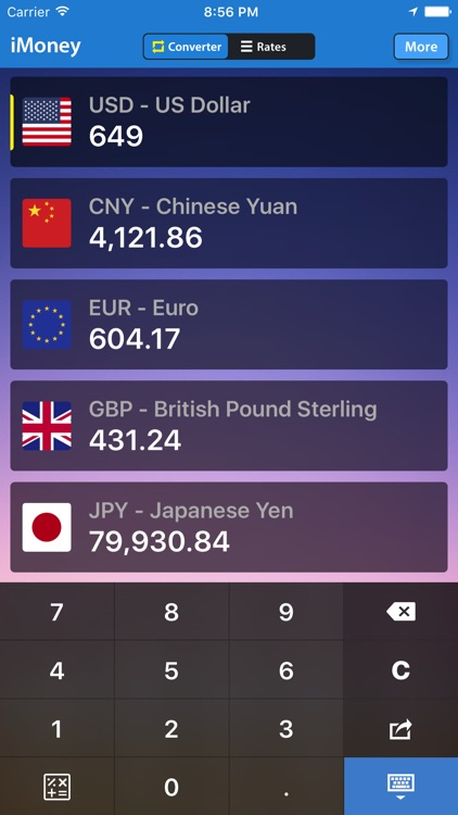 iMoney Air · Currency Exchange screenshot-3