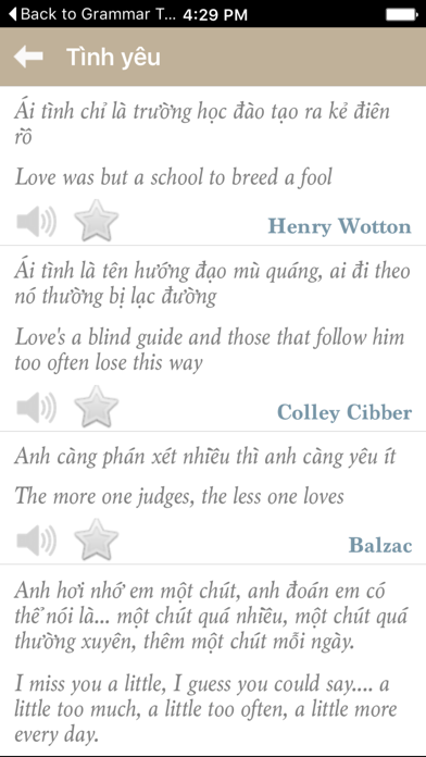 Danh ngôn song ngữ Việt Anh screenshot four