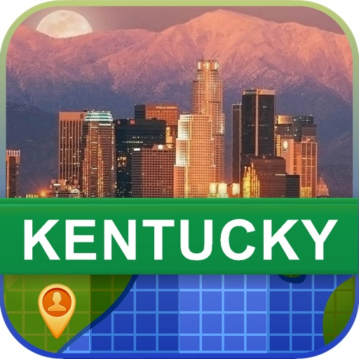 Offline Kentucky, USA Map - World Offline Maps