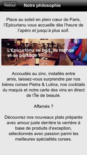 L'Epicurianu Restaurant Bar à Vin on the App Store