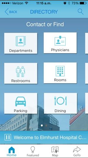 NYC H+H Elmhurst E-Map on the App Store