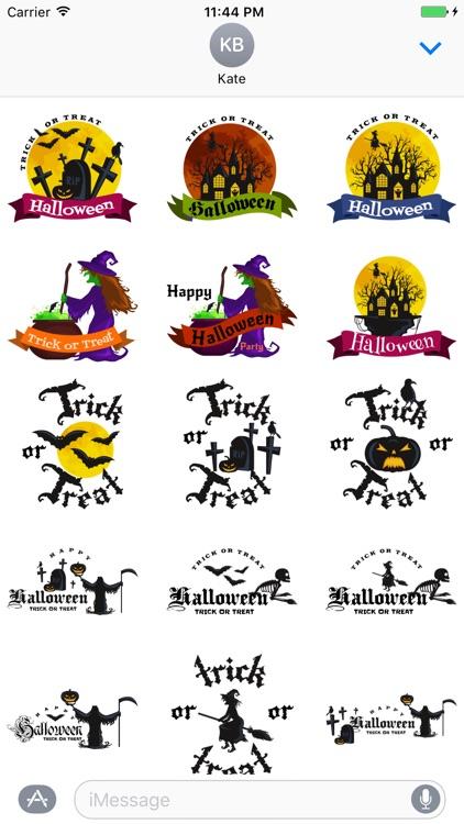 Crazy Halloween Sticker for iMessage #15