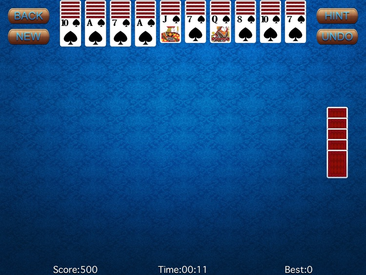 Spider-Solitaire HD screenshot-0