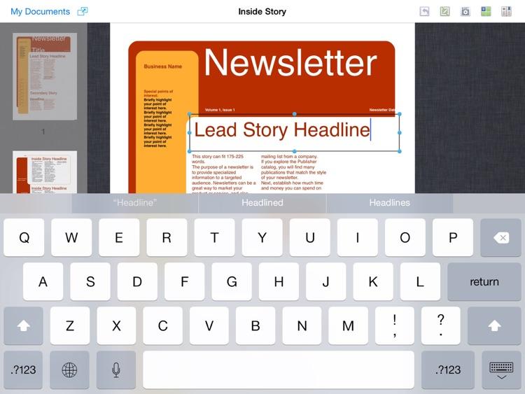 Publisher Expert - PUB Editor screenshot-3