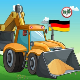 Learn German for Kids- First Words Trucks World