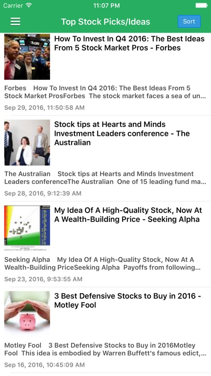 Stock Market Today Pro - Latest News & Updates screenshot-2