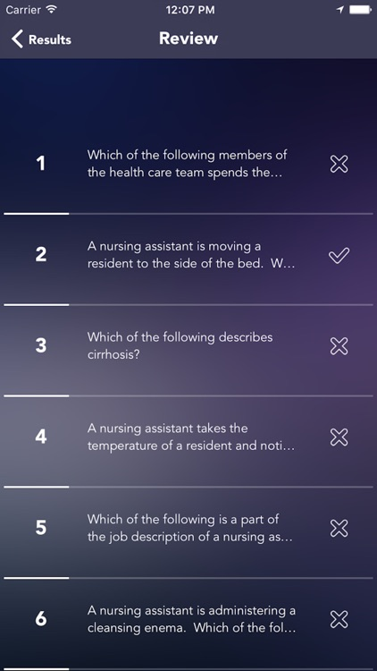 CNA(Certified Nursing Assistant) Certification Test Prep screenshot-3