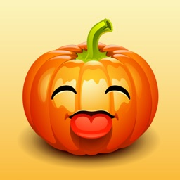 Say it with jack-o'-lantern face