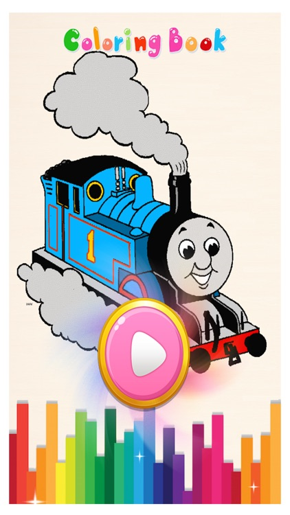 Train Coloring Game for Kids - Kids Learning Game screenshot-3