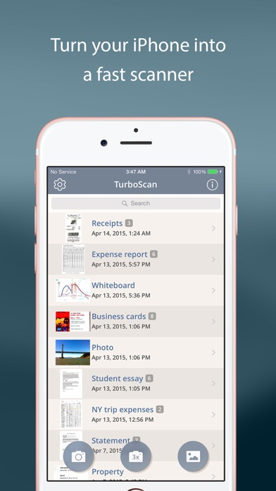 TurboScan™ Pro: PDF scanner app image