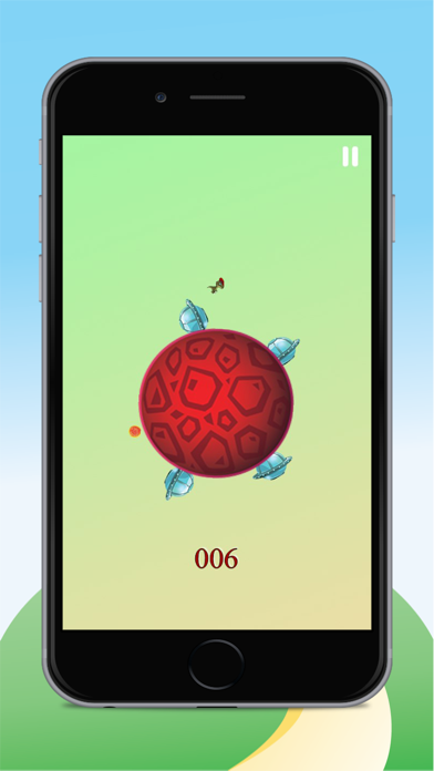Dinosaur Run And Jump - On The Candy Circle Ball Games For