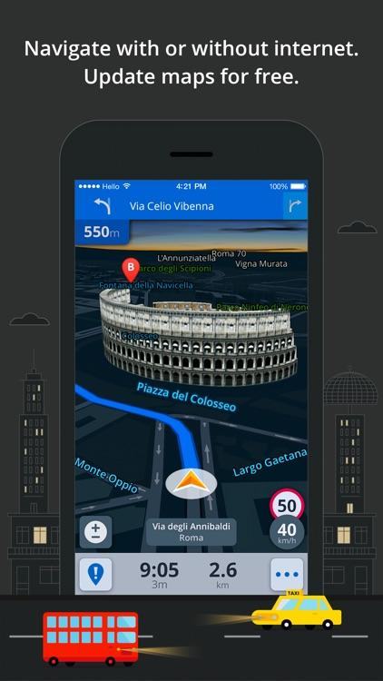 Sygic Southeast Asia: GPS Navigation, Offline Maps screenshot-3