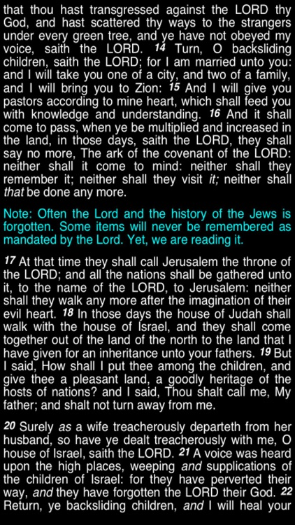 Summary King James Bible (part 6) screenshot-3