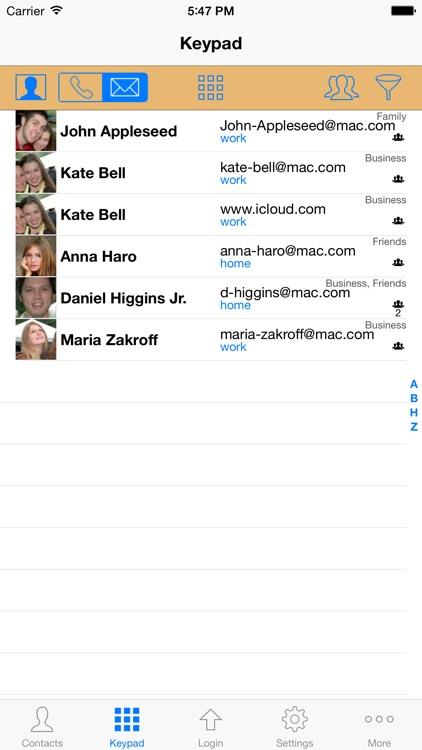 ContactsPro for iPad screenshot-4