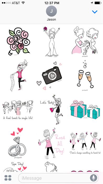 philoSophie's Bridal Sticker Pack screenshot one