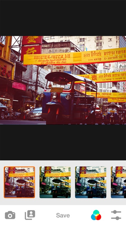 Analog Camera - Photo Filters Film for Bangkok