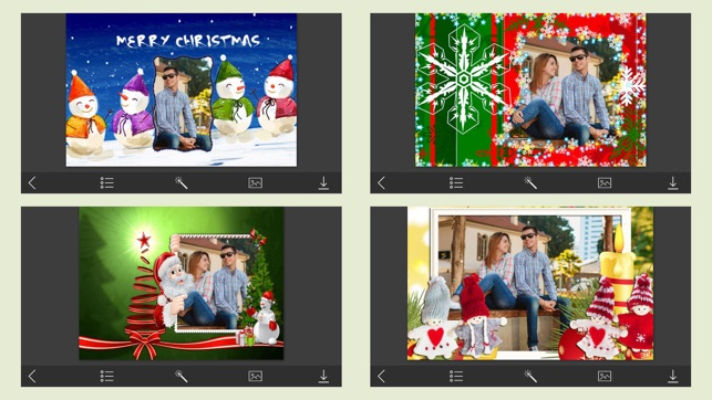 Holly Jolly Christmas Photo Frame - Frame Booth on the App Store