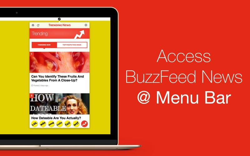 趨勢新聞 - 應用程序的 Buzzfeed for Mac