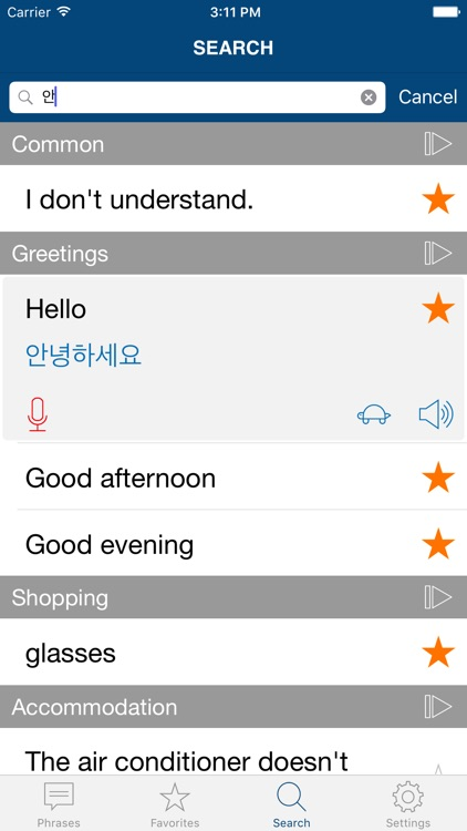 Learn Korean Phrases Pro screenshot-3
