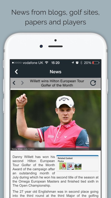 Golf RightNow screenshot two