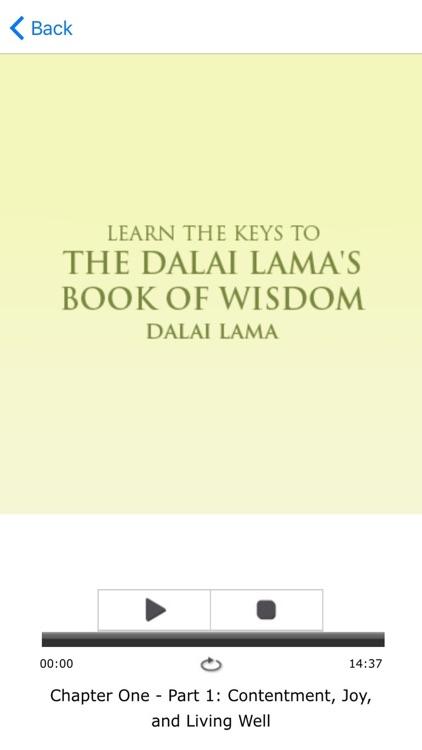 Meditations for The Dalai Lama's Book Of Wisdom screenshot-3