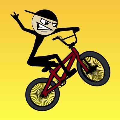 Stickman BMX Free ios app