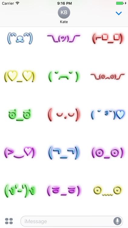 Neon Retro Emoji screenshot-4
