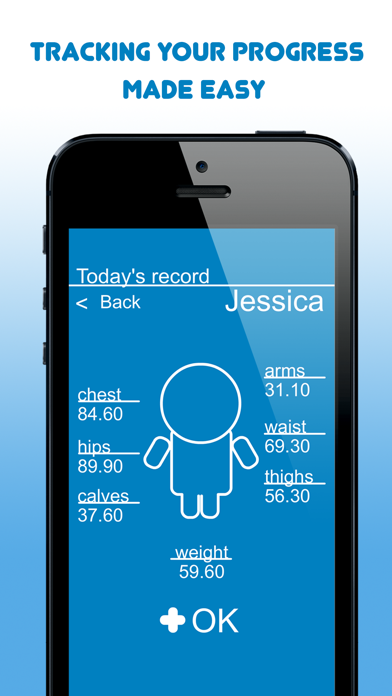 My Body Measurements screenshot two