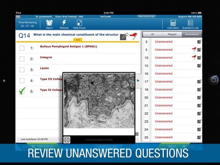 ExamSoft SofTest-M screenshot-4