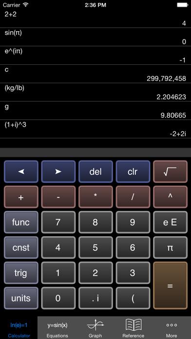 Scientific Graphing Calculator by William Jockusch (iOS ... on