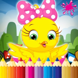 Animal Coloring Book Game for kid 2 to 7 years old