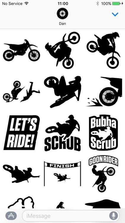 Moto Sticker Pack