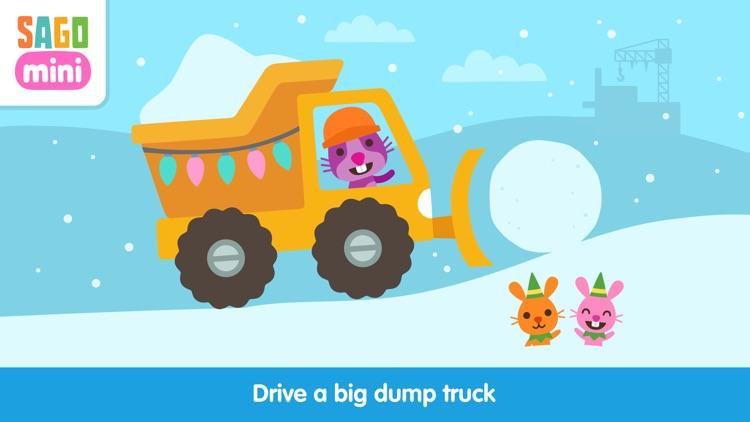 Sago Mini Holiday Trucks and Diggers