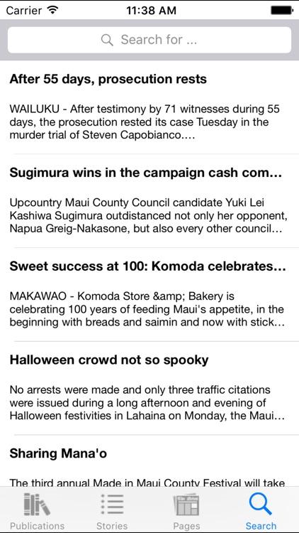 Maui News On The Go screenshot-3