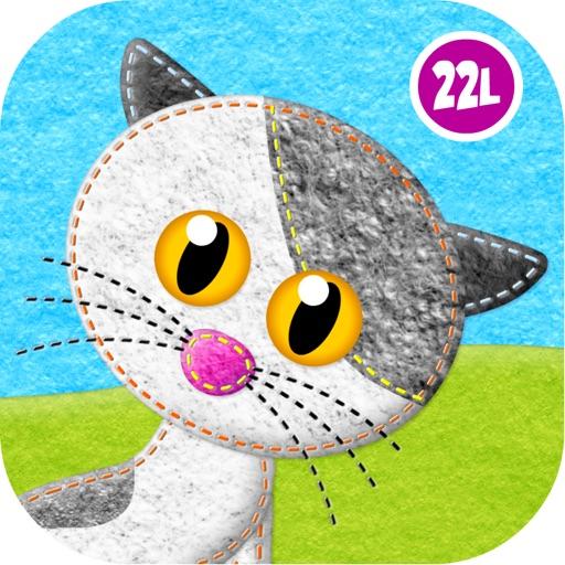 Kids Animals, Pig salon, Toddlers mini games Free icon