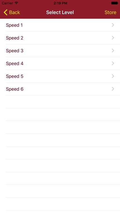 Speed 1-6