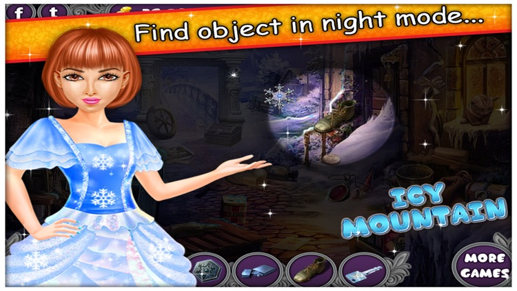 Icy Mountain - Free Hidden Objects game for kids screenshot-3