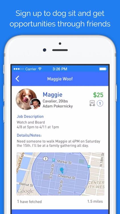 Doggy Buddies (DoggyBnB) - dog sitting network screenshot-4
