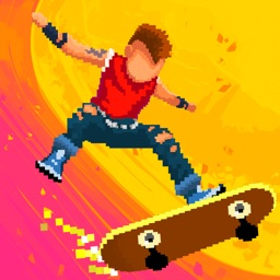 Halfpipe Hero - Retro Arcade Skateboarding
