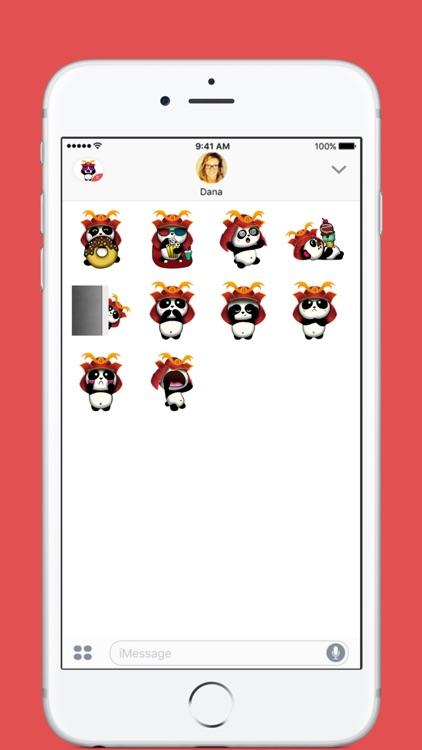 SAMURAI PANDA (Animated) stickers by CandyA$$