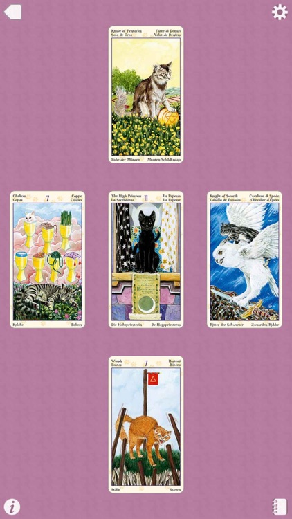 Tarot of Pagan Cats screenshot-4