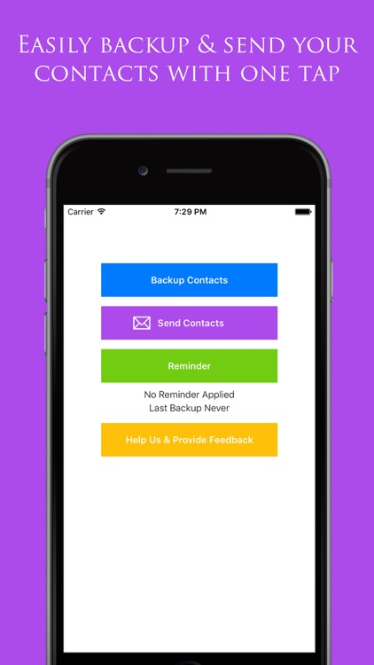 Backup My Contacts Assistant: Export & Transfer