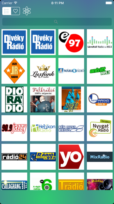 Hazai Rádiók - Magyar Rádiók - Hungary Live Radio screenshot one