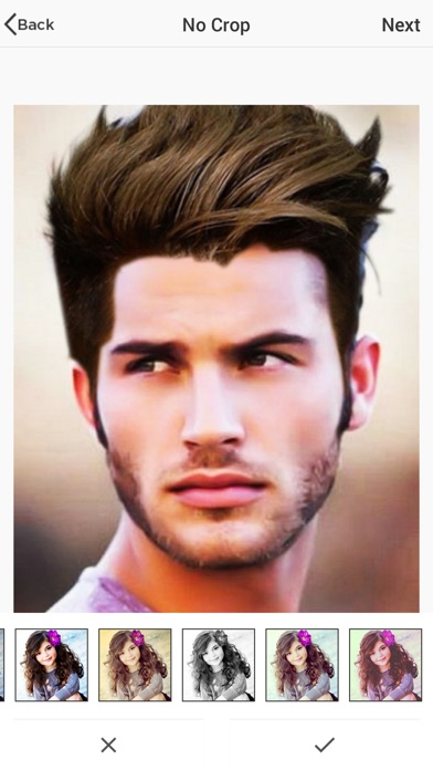Man Hairstyle Photo Editor | App Price Drops