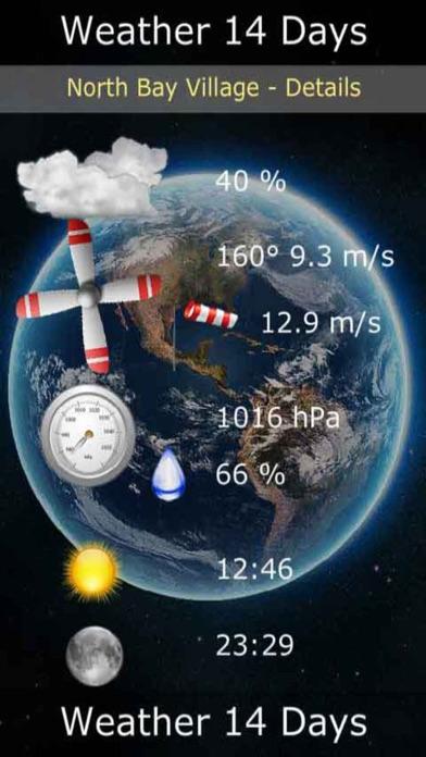 天氣數字14天屏幕截圖2