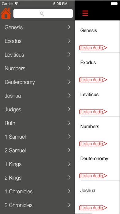 American Standard Version Bible (Audio) screenshot two