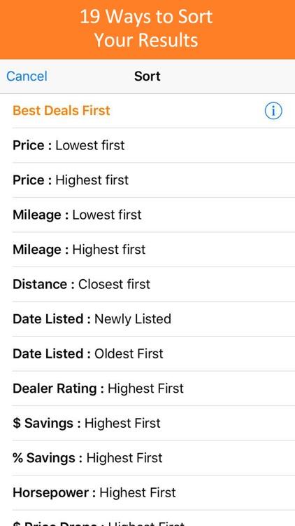 Used Car Search Pro - iSeeCars screenshot-4