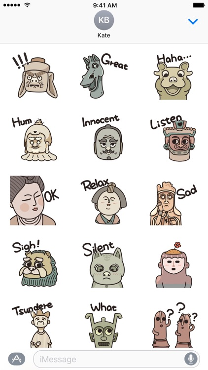 Ancient Culture − NHH Stickers